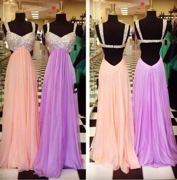 dress purple coral coral dress purple dress rhinestones peach dress prom dress prom dress sparkly dress long prom dress pink dress embellished dress jewels open back dresses
