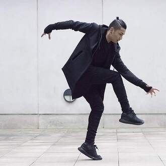 jacket style fashion male style male fashion tumblr black black jeans instagram blvckmvnivc black hoodie black hooded jacket