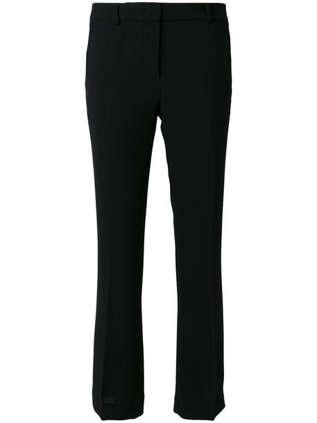 L'Autre Chose cropped women fit black pants