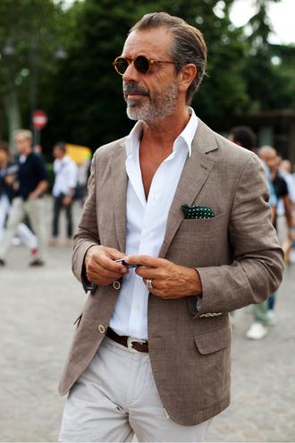 jacket linen suit mens suit