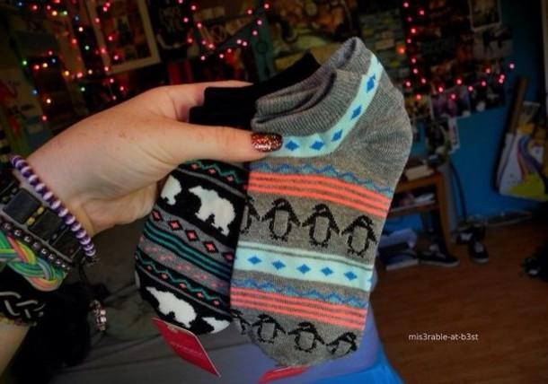 shoes socks