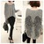 Angel Wings Sweater - Gray