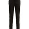 Striped-waist technical-jersey trousers