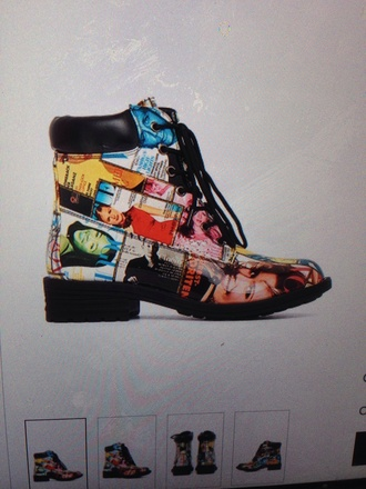 colorful patent shoes magazine different different colors boots patent patent leather rainbow