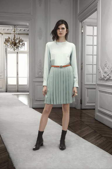 chloé fashion lookbook dress skirt