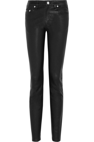 Acne Studios | Skinny leather pants | NET-A-PORTER.COM