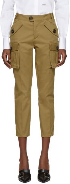 Dsquared2 khaki pants