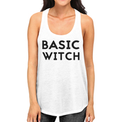 tank top,witch,basic witch,halloween,halloween shirt,funny shirt,graphic tee,graphic tank tops,white tank top,white shirt