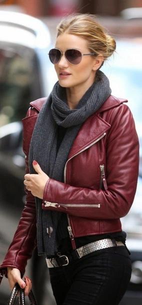 coat leather jacket burgundy red