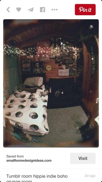 home accessory bedroom bedding tumblr bedroom grunge grunge wishlist alternative yin yang