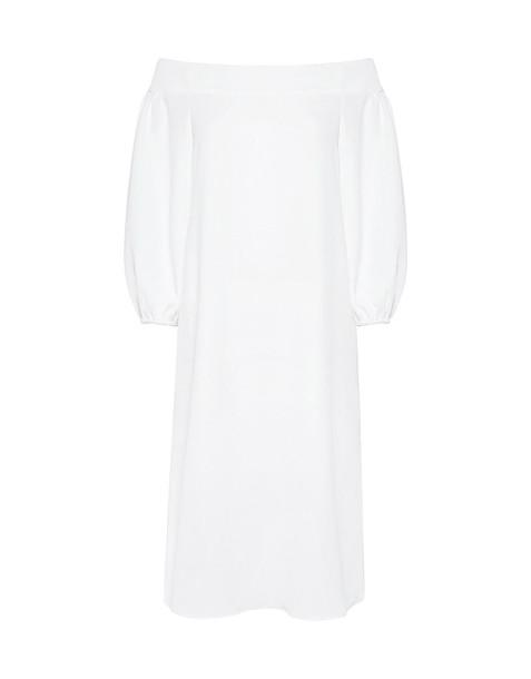 Tibi dress white