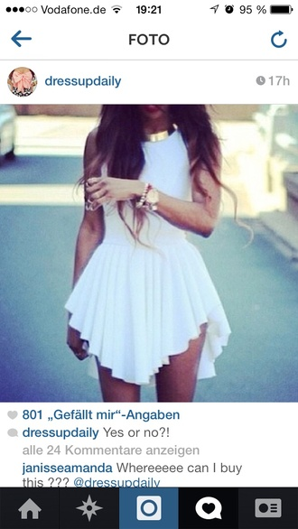 dress pretty vokuhila dress vokuhila skirt fashion summer dress mini dress hipster cute dress