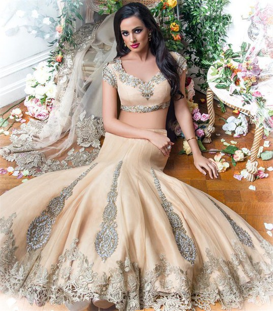dress, two pieces indian wedding dresses, mermaid wedding dress ...