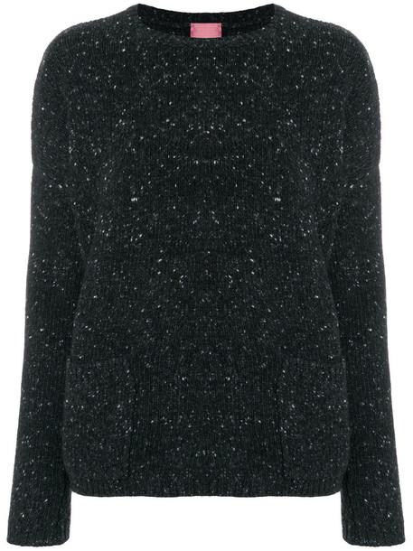 jumper women wool grey sweater