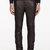neil barrett black leather classic trousers