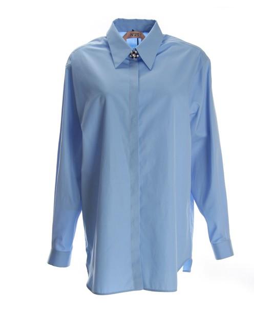 N.21 shirt blue shirt light blue light blue top