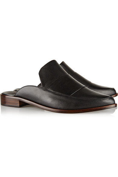 Denni leather mules