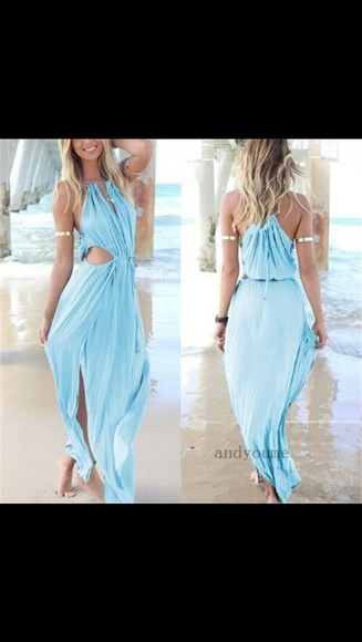 maxi long dress boho