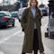 Khaki trench coat - style du monde   street style street fashion photos