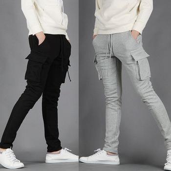 Nova primavera 2014 homens algodão marca carga harem pants ...