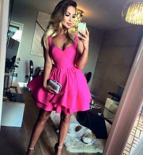 Sexy Pink Dress