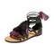 Rebecca minkoff elisha sandals - black