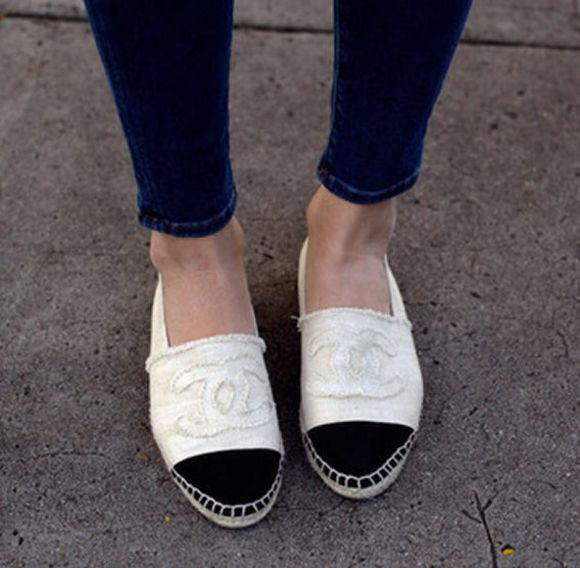 chanel shoes espadrilles