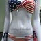 Usa flag bikini star & stripes padded sexy 2 style to choose free next day deliv | ebay