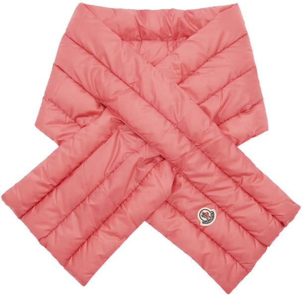 moncler scarf pink