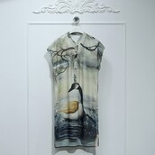 dress,silk