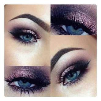 make-up purple makeup palette youtuber