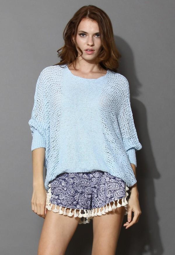 chicwish slouchy sweater