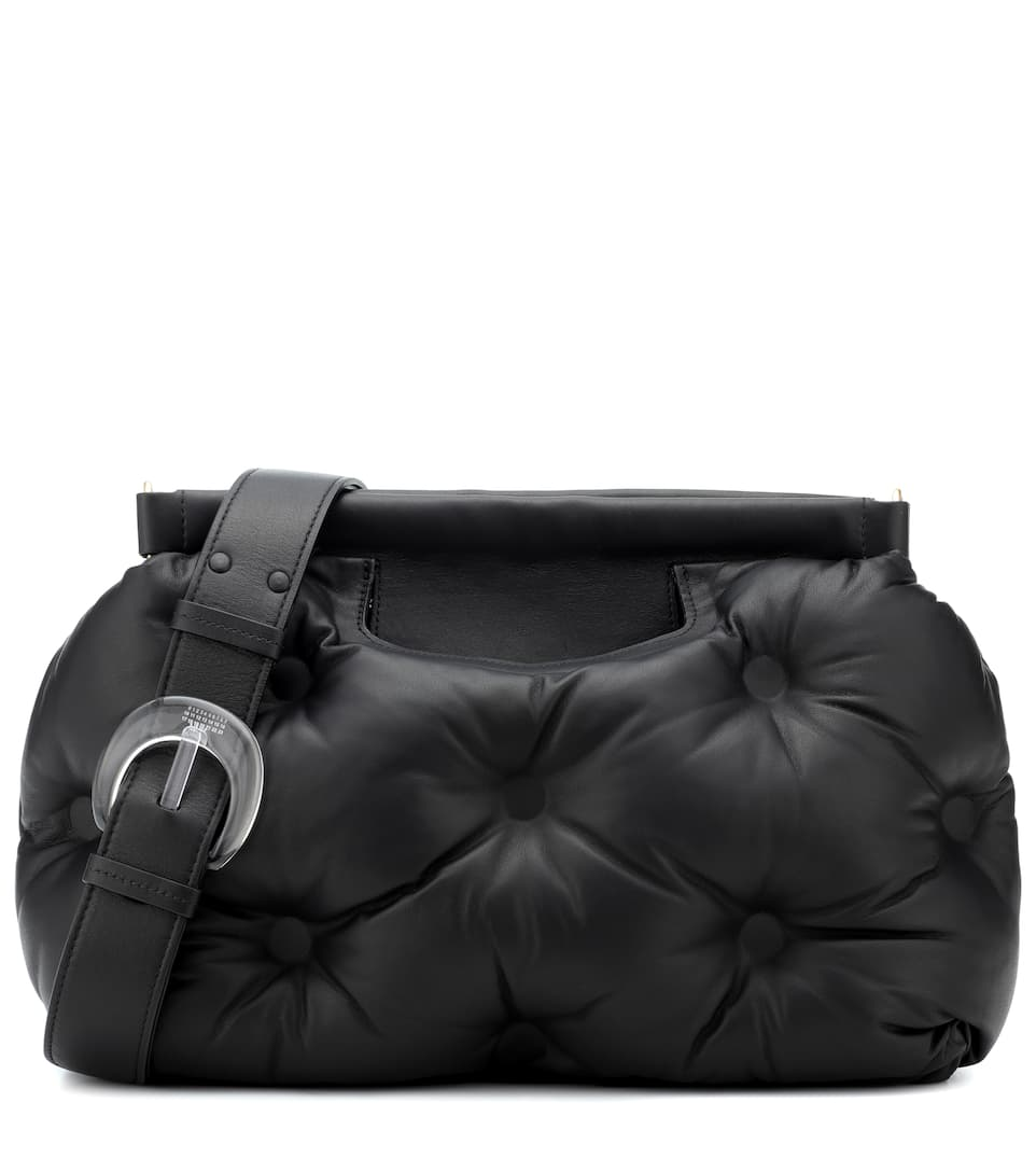 Glam Slam quilted shoulder bag