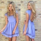 dress,purpledress,purple dress,purple,lilac,lilac dress,sundress,lavender dress,spring dress,summer dress,lavender,homecoming,homecoming dress,open back,open back dresses,lace dress,lace lavender dress,backless,lavender backless dress,blue,open  back,love,amazing color