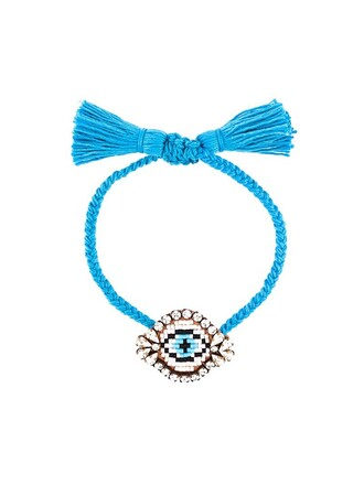 beaded bracelet beaded blue jewels