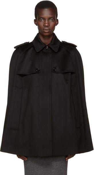 Burberry cape black top