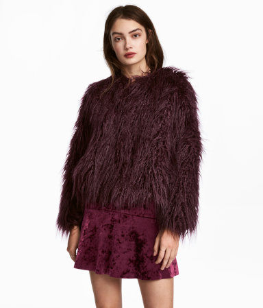 variety design differently so cheap H&M Faux Fur Jacket $69.99