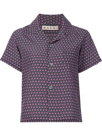 shirt short green top