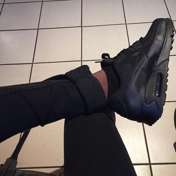 shoes black sneakers black sneakers