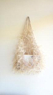 bag,bags and purses,macreme bags,ribbon bags,beach,holiday gift