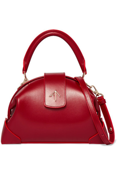 manu atelier bag shoulder bag leather