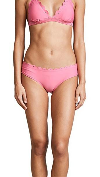 Kate Spade New York bikini bikini bottoms hipster bikini hipster scalloped swimwear