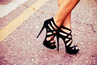 shoes heels black high heels