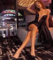dress,black dress