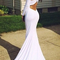 Aliexpress.com : buy sheath evening dresses 2014 new arrival high neck court train white prom dress from reliable evening dresses suppliers on dressanswer | alibaba group