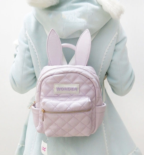 Free shipping LDS Bunny Ears light purple Guilted backpack · Sweetbox Store · Online Store Powered by Storenvy