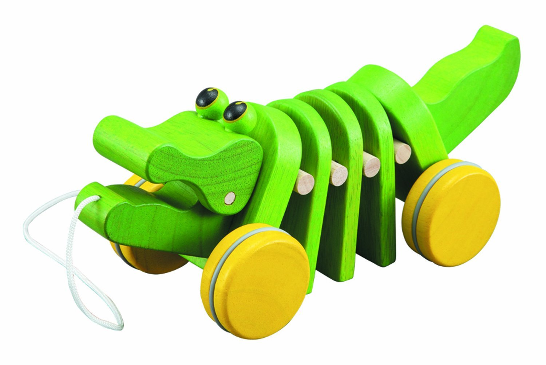 Amazon.com: Plan Toys Dancing Alligator: Toys & Games
