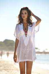 dress,swimwear,white,cover up,summer,beach,pants,white cover up,sheer,sexy,sheer white swimsuit coverupp