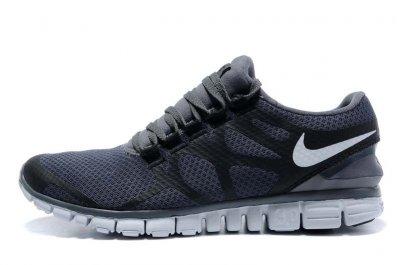 Wholesale Mens Nike Free 3.0 v3 Black White