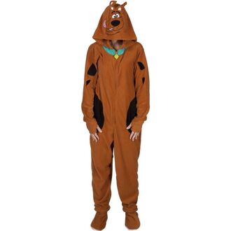pajamas footed footed pajamas scooby doo onesie one piece please!! brown